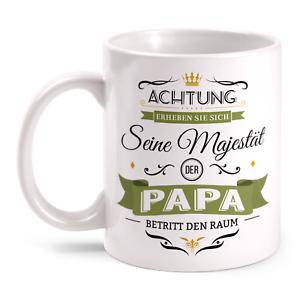 Details Zu Majestät Papa Tasse Spruch Geburtstag Geschenk Idee Vatertag Geburt Baby Lustig