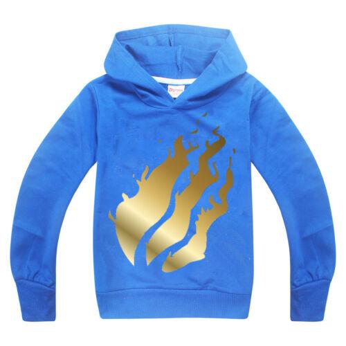 4-12Years Prestonplayz Children Boys Hoodie Sweatshirt kids XMAS GIFTS