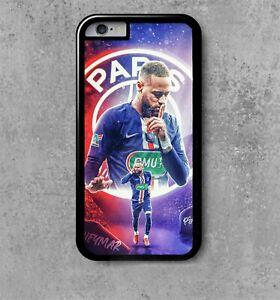 Détails sur coque iphone 4/5/6/7/8/10/11/12 neymar 2 psg football