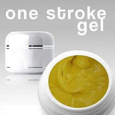 4 ml / 3D/ ONE STROKE FARBGEL***yellow **ANGEBOT FÜR KURZE ZEIT**