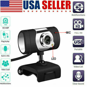 USB Webcam Camera with mic for HP Dell Toshiba sony computer laptop pc desktop