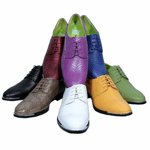 Halbschuh Rocky Dandyschuh zum Anzug 8 Farben 6 Größen DELUXE