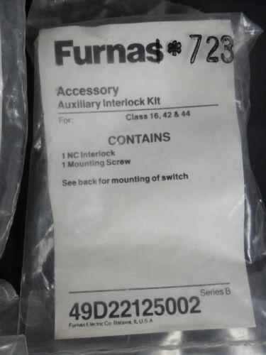 New Furnas 49D22125002 Series B Auxiliary Interlock Kit NIFP
