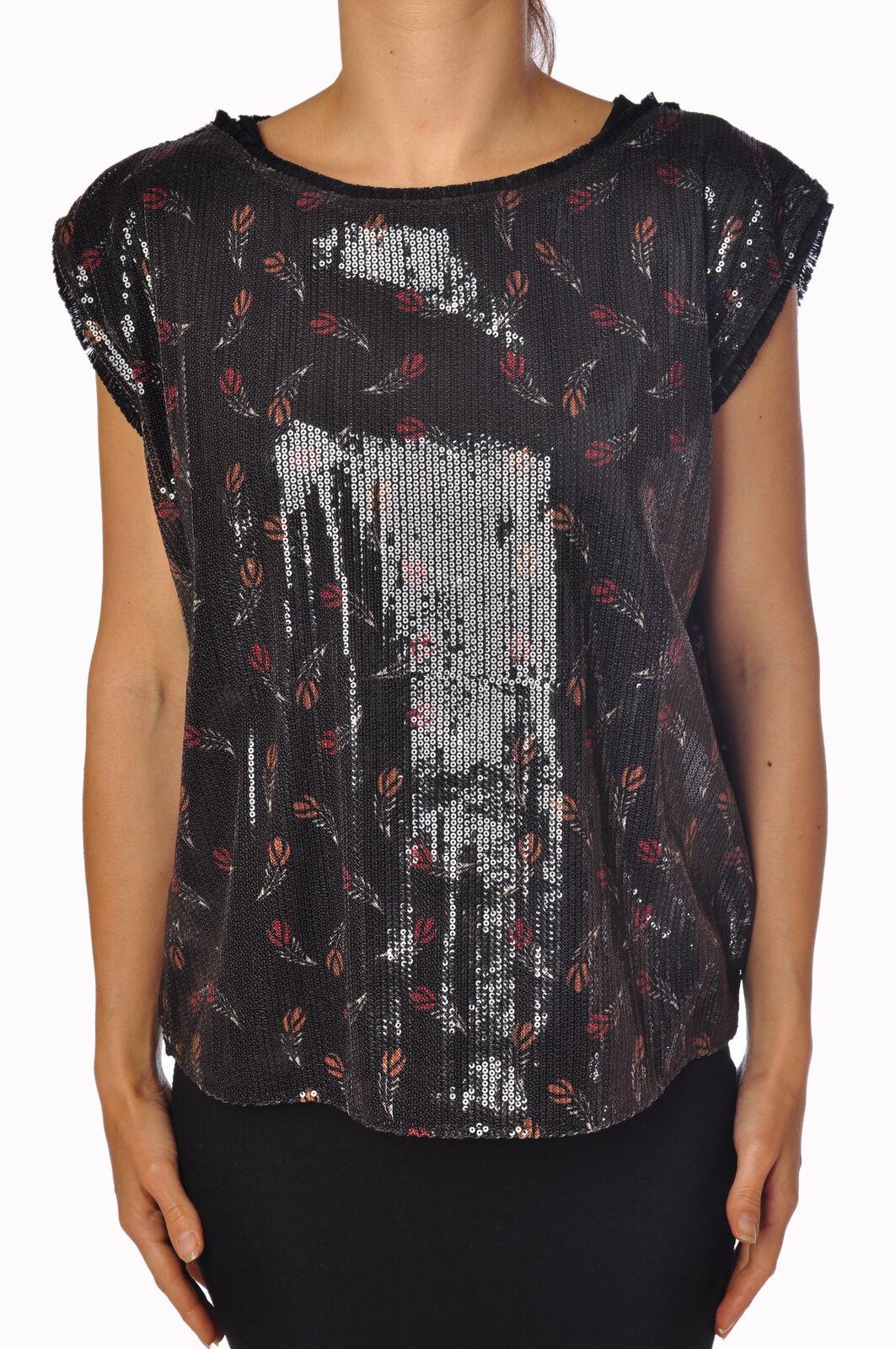 Soallure - Topwear-T-shirts - woman - schwarz - 791617C181150
