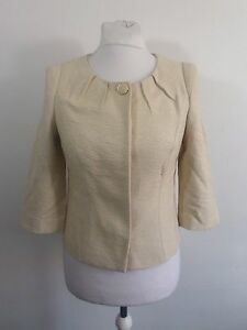 CC-Fashion-Petite-Gold-Jacket-Size-UK-8-RRP-159-Box46-64-N