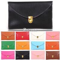 New Lady Women Envelope Clutch Chain Purse HandBag Shoulder Hand Tote Bag