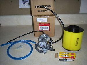 genuine honda oem recon 250 carburetor air fuel filter plug 1 1 2image is loading genuine honda oem recon 250 carburetor air fuel
