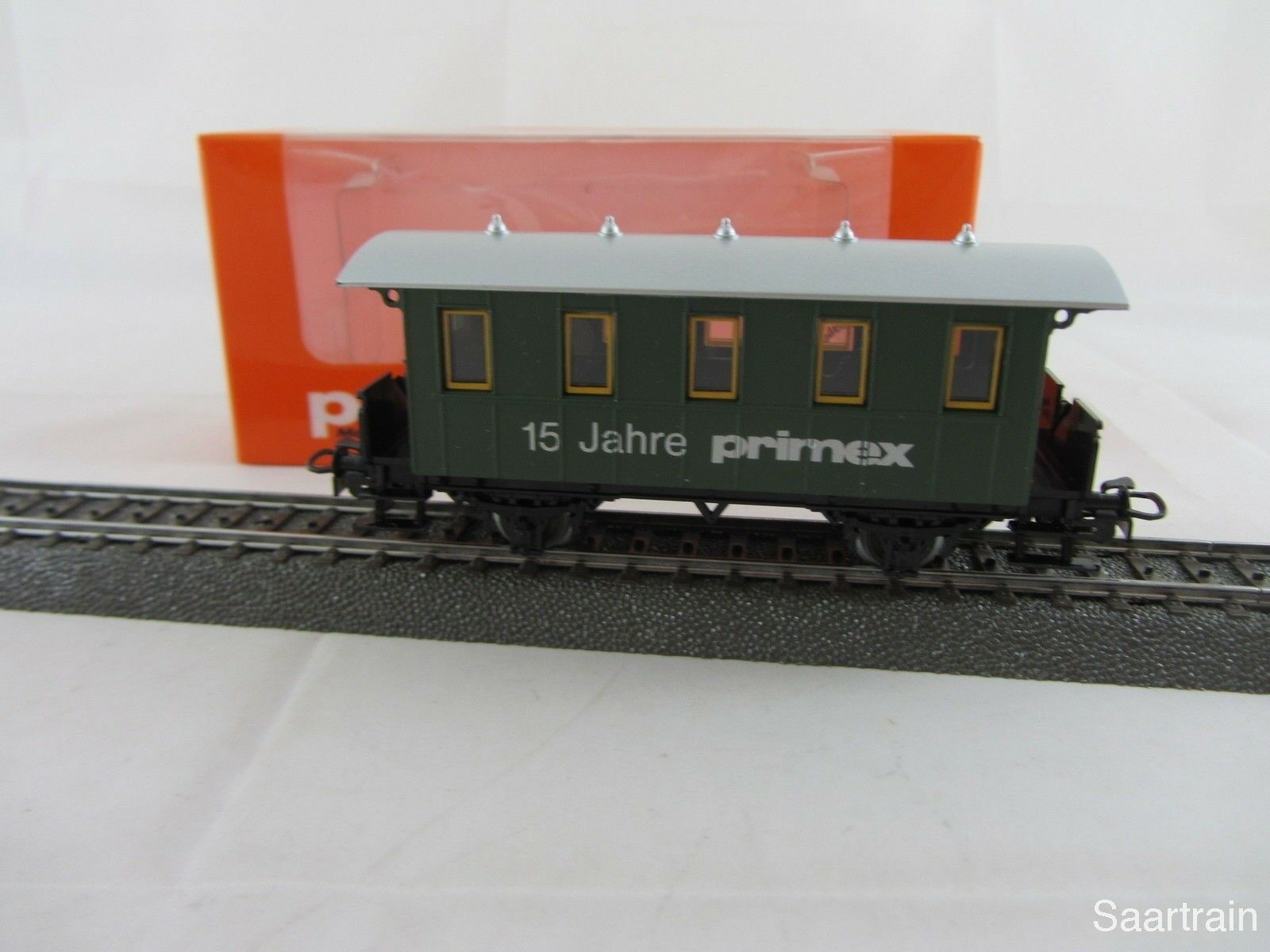 Primex Personenwagen green Sondermodell 15 Jahre Primex mit OVP sehr selten