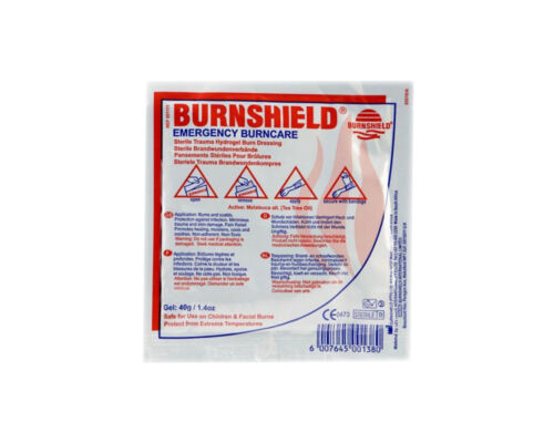 Burnshield GARZA PER BRUCIATUE SCOTTATURE cm 10x10