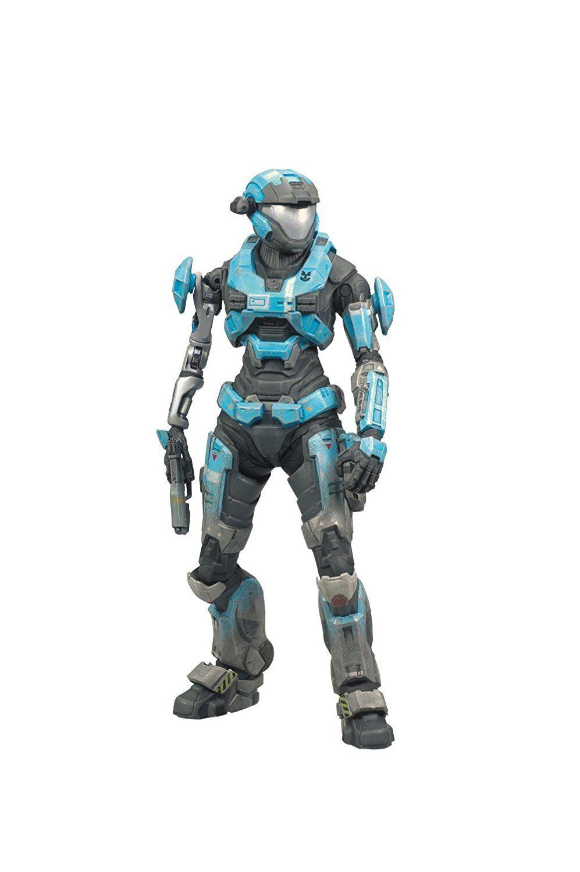 McFarlane Spielzeugs Halo Reach serie 2 - Kat Wirkung Figure Cyan