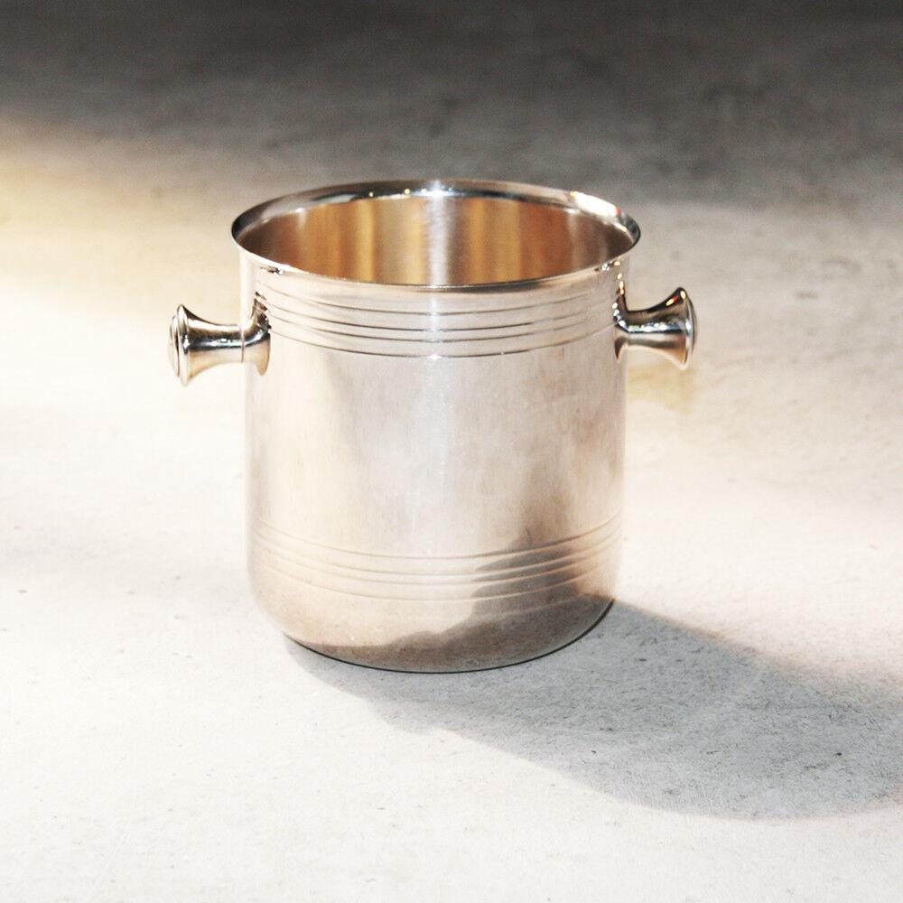 Seau à glace VIBRATION en métal argenté Christofle