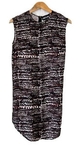 JAGGAR-SIZE-S-8-PEBBLE-PRINT-SHIFT-DRESS-NWOT