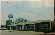 1960's Postcard Loosier Furniture Store Company Church Street Thomaston Georgia