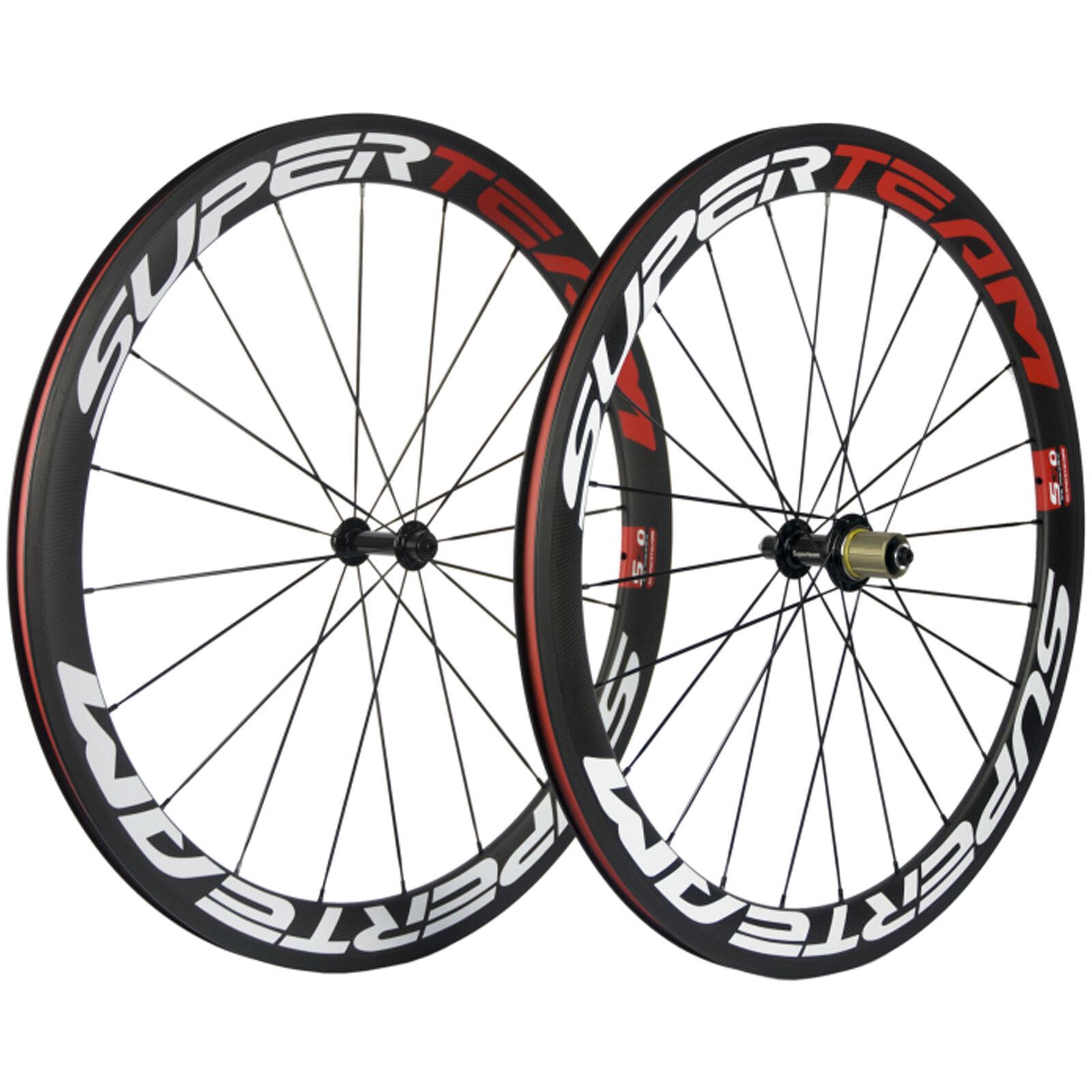 Basalt Brake Surface Road Bike Carbon Wheelset 50mm Clincher Carbon Wheels R13