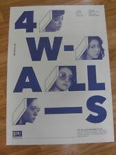 f(x) - 4 WALLS (TYPE A) [ORIGINAL POSTER] *NEW* K-POP FX