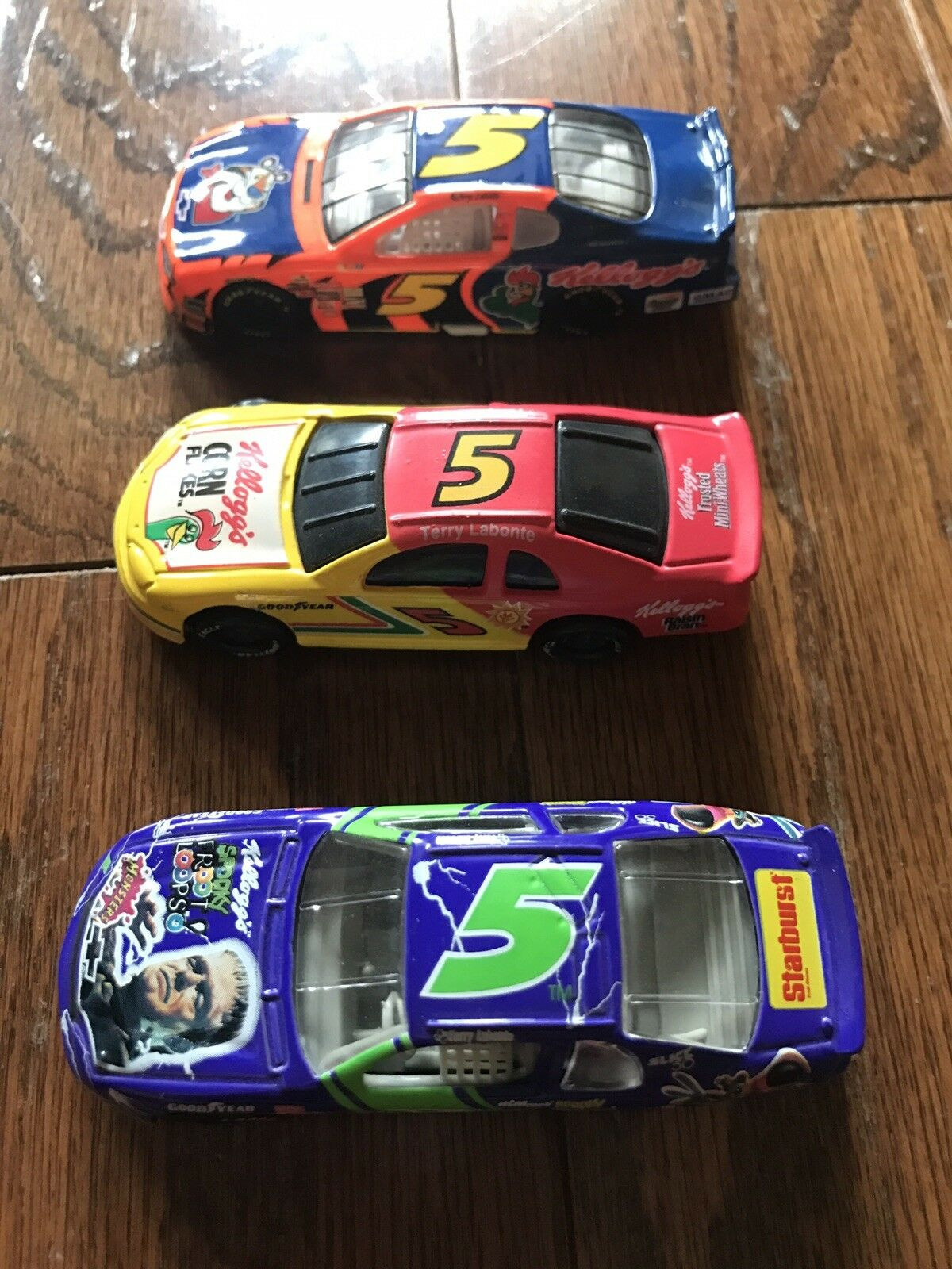 Terry Labonte Matchbox Car Kellogg's Lot of 3