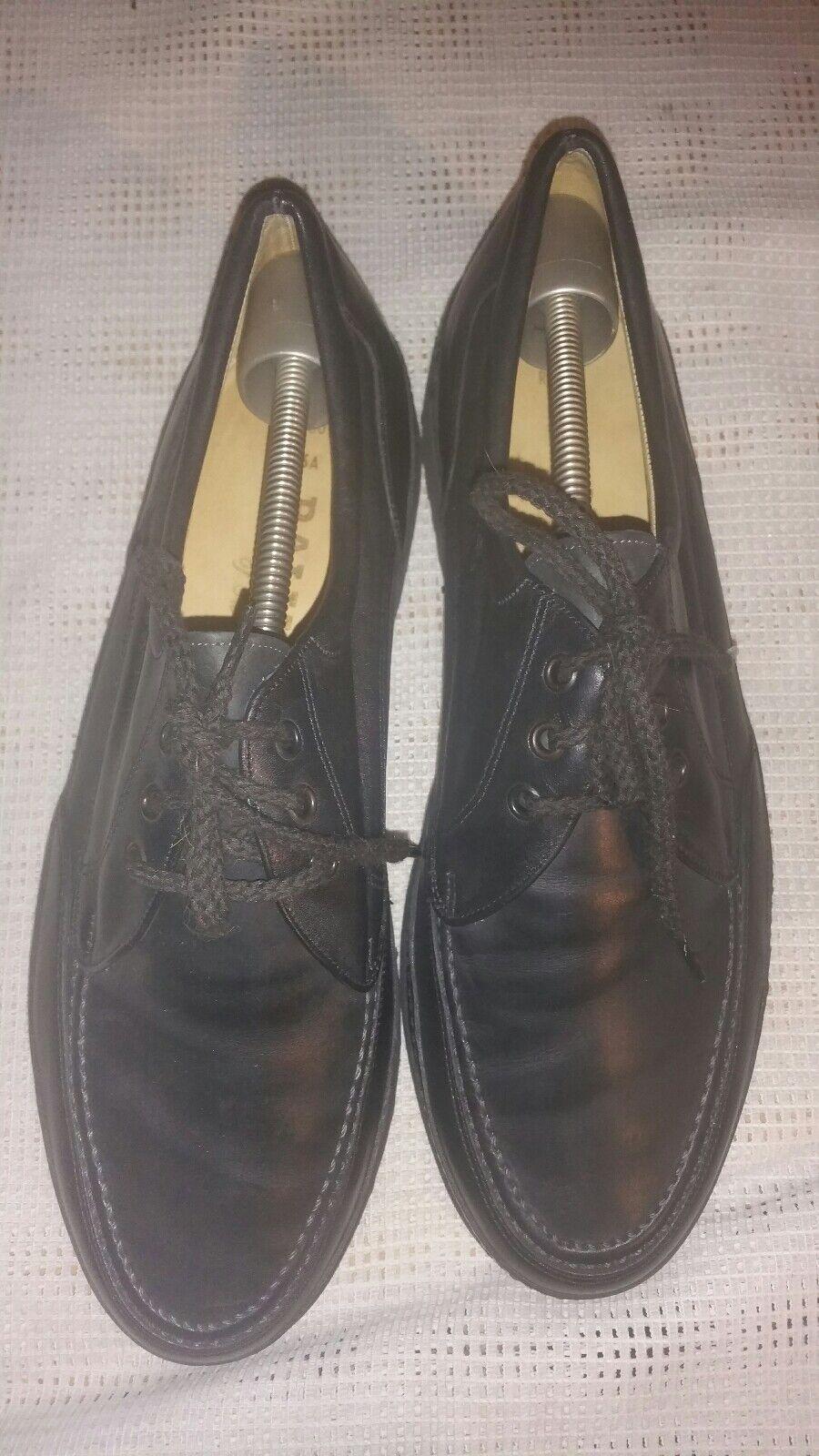 Bally Herren Schuhe Business Lederschuhe in Schwarz  Gr.42 E UK 8