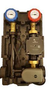 Heizkreisstation-Pumpengruppe-mit-3-Wege-Mischer-GRUNDFOS-UPM3-Hybrid