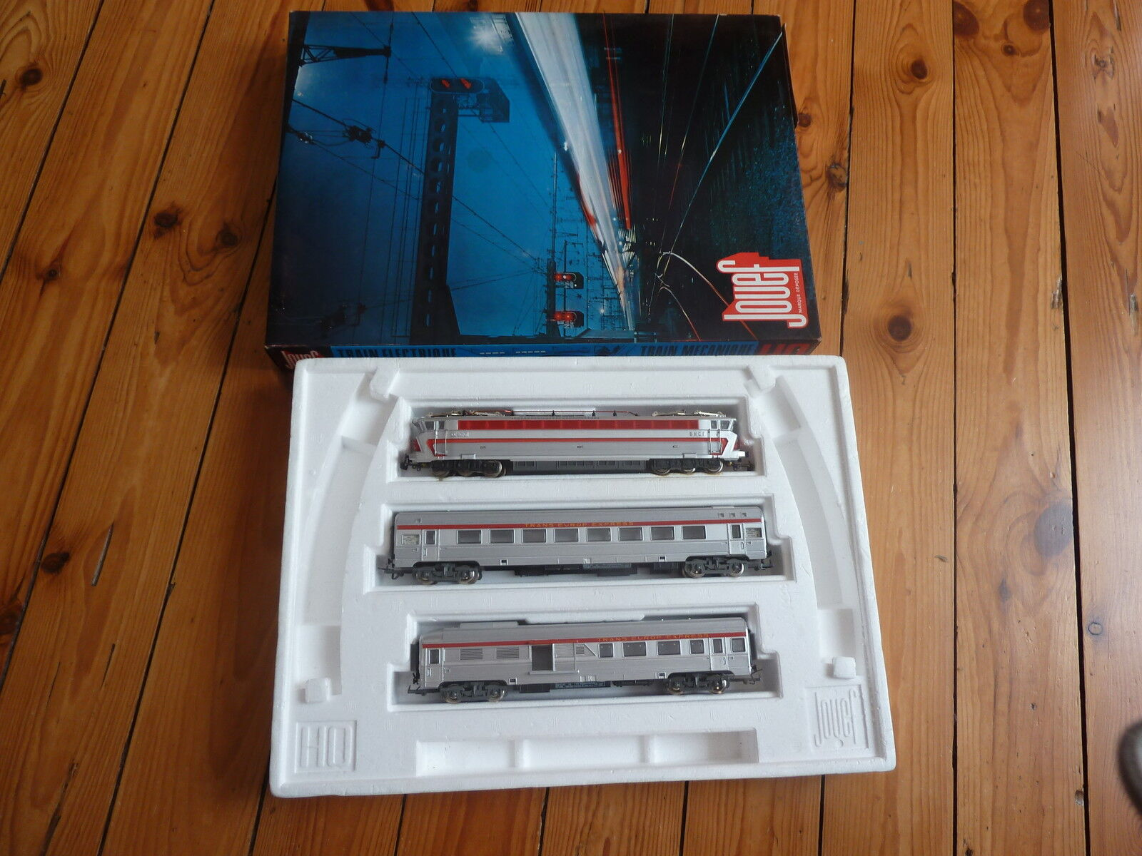 LOCOMOTIVE   CC 4010 Boite    Jouef -  7606E  -   Trans-Europe-Express-