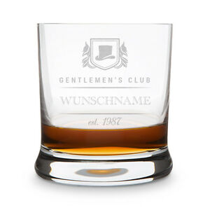 leonardo whiskyglas mit individueller gravur gentlemen 39 s club name datum ebay. Black Bedroom Furniture Sets. Home Design Ideas