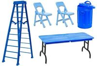10 Blue Ultimate Tlc Playset Deal - Wrestling Figure Accessories (new) Wwe/tna