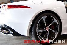 Jaguar F-TYPE 2014-2016 Carbon Fiber Rear Side Splitters / 14, 15, 16