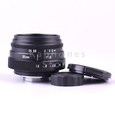 Mini 35mm F1.6 APS-C Television TV Lens/CCTV Lens For 16mm C Mount Camera