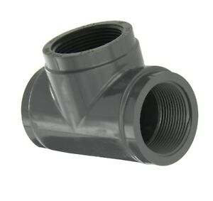 GF Piping Systems PVC Pipe Fitting Plug Gray 2-1//2 NPT Male Schedule 80
