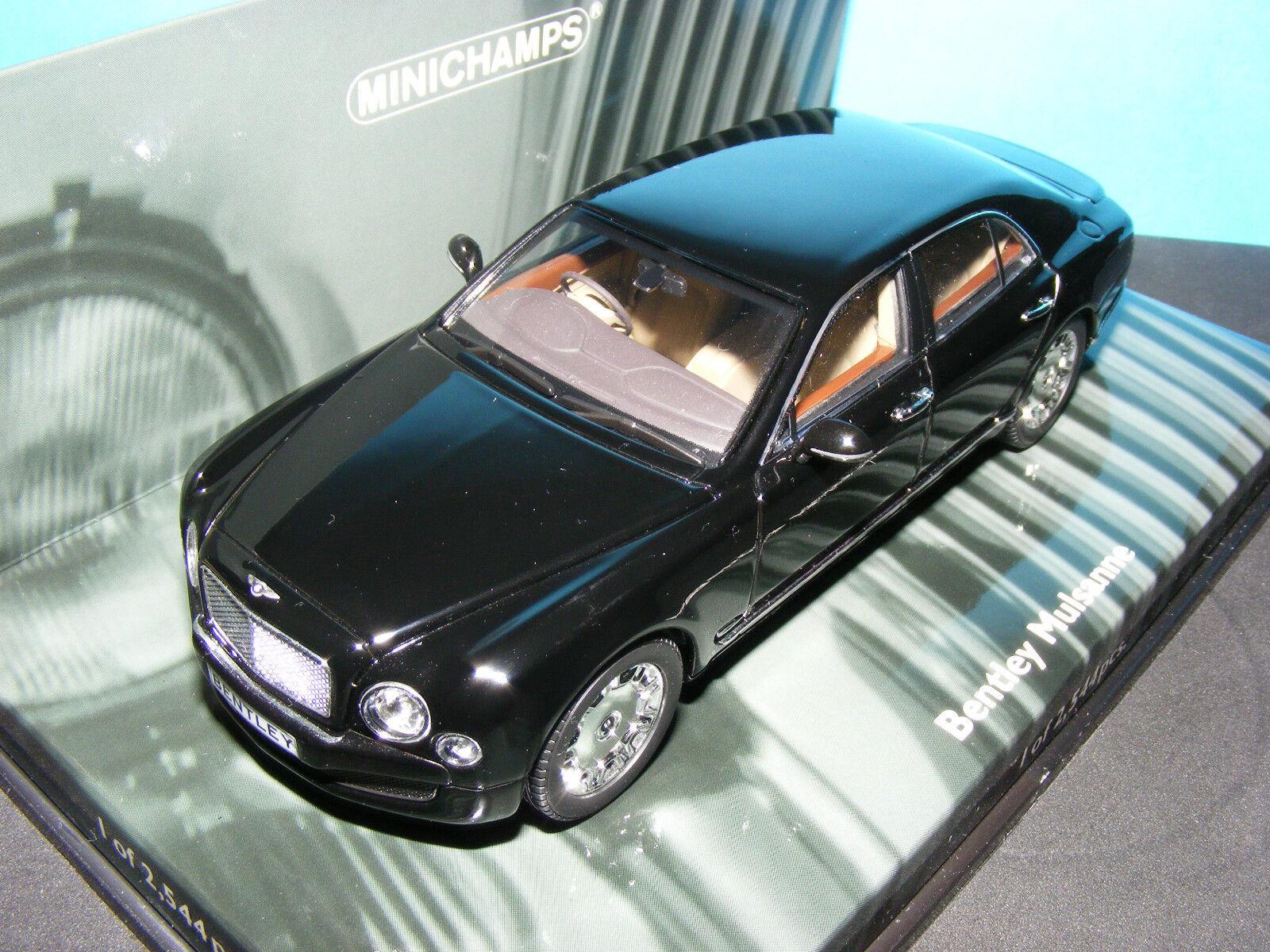 Bentley Mulsanne 2010 SUPERBE NLA NLA NLA très rare MINICHAMPS 436139900 1 of 2544 pcs   Outlet Online  bddb3a