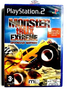 Monster-Trux-Extreme-PS2-Neuf-Scelle-Videojuego-Videogame-Scelle-Nouveau-Spa