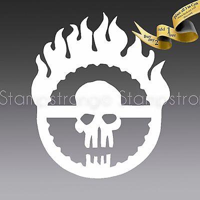 Sticker Die Cut 4 Banger JDM OBJECTS Oracal MAD MAX FURY ROAD logo Vinyl Decal
