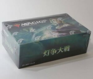 MTG-Magic-the-Gathering-War-of-the-Spark-booster-box-36-Pack-Japanese-Edition