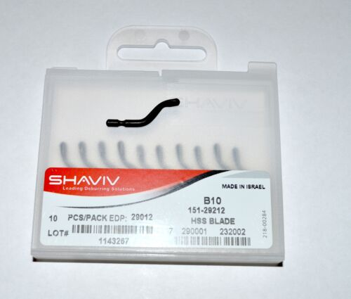 Shaviv B10 Cutter Deburring Blade Pkg of 50  #29012