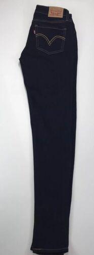 535 Dark Super L30 W26 Levies Ladies Blue Jeans Skinny wgPIvqx