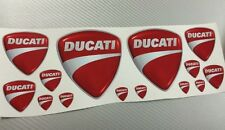 14 Adesivi Stickers DUCATI New Effetto 3D Varie Misure