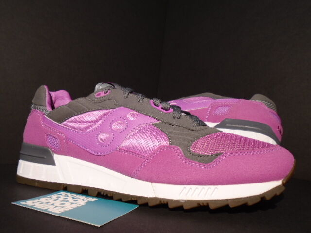 2013 SAUCONY SHADOW 5000 SOLE BOX THREE BROTHERS 3 MAGENTA Rosa grau Weiß 10.5
