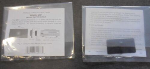 "Xantech MS1 Designer Emitter Shield 1/"" x 2/""    2 PACK 28DES"