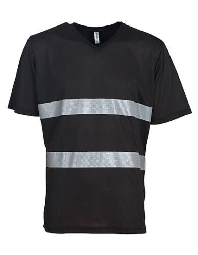 YOKO YK910 Warnschutz Funktions T-Shirt Arbeitsshirt Freizeitshirt Berufsshirt