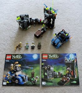LEGO-Rare-Monster-Fighters-The-Crazy-Scientist-amp-His-Monster-9466