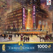 Thomas Kinkade Radio City Music Hall 1000 Piece Ceaco Jigsaw Puzzle Jig Saw