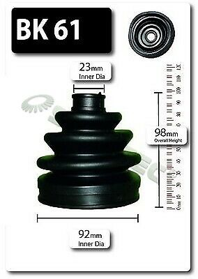 CV Joint Boot Kit fits HYUNDAI Front Outer C.V Driveshaft Gaiter Shaftec New