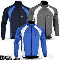 Cycling Jackets Windstopper Winter Thermal Windproof Long Sleeve Jacket All Size
