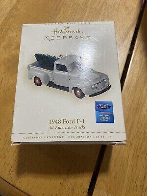 NEW Hallmark QX2376 Keepsake 1948 Ford F-1 All-American Trucks Ornament