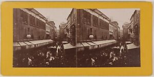 Perpignan Wednesday Of Ash France Photo Amateur Stereo Th1L5n2 Vintage 1911