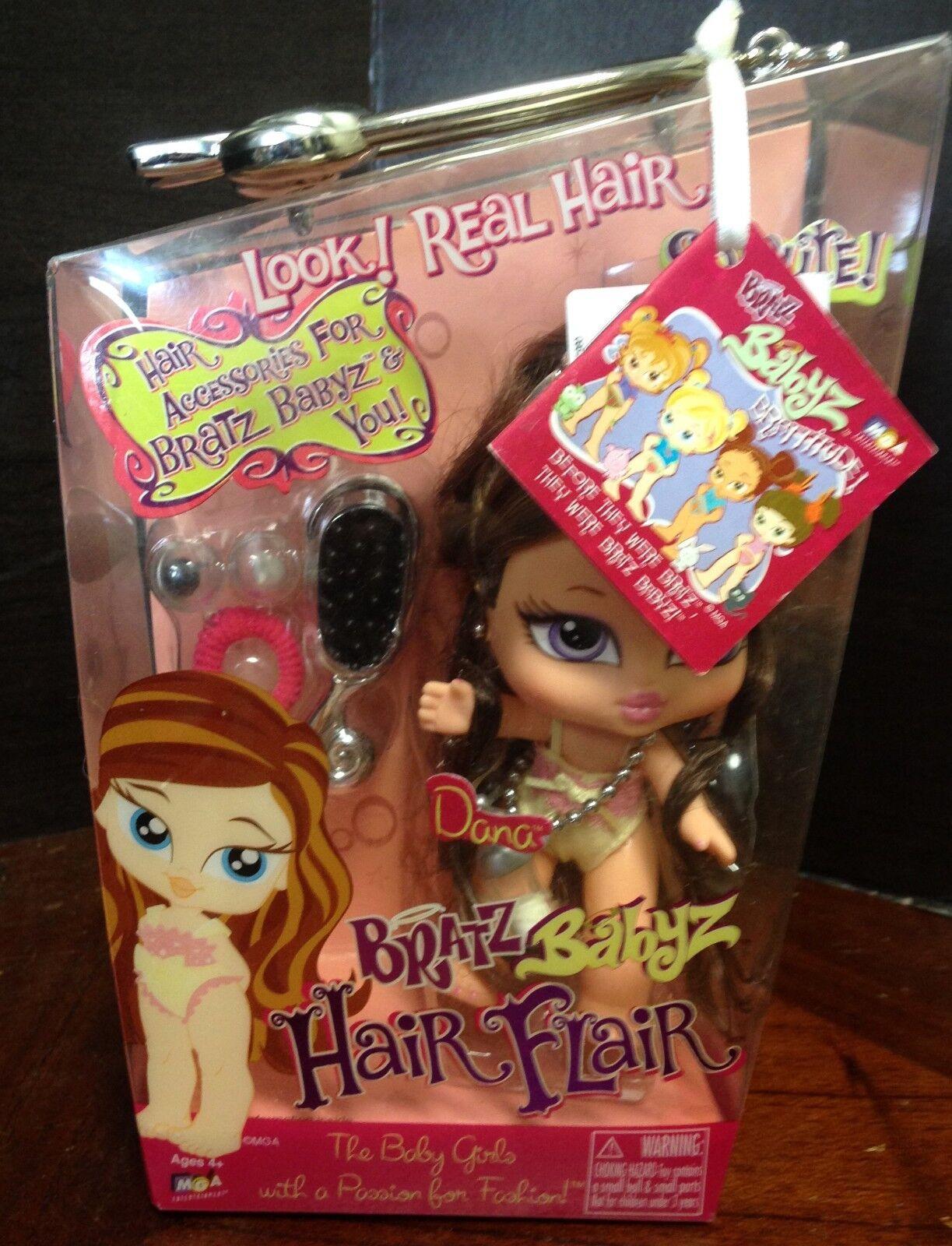 Bratz Babyz Haar Flair Puppe - Dana - Brandneu - Seltener - Mga - Dana