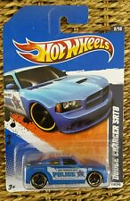Police Car Cruiser Dodge Charger SRT8 HW City Works 02/10 Hot Wheels 110/240