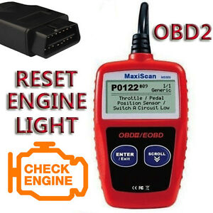 Details about FOR PEUGEOT OBD2 CAN BUS EOBD CAR FAULT CODE READER ENGINE  SCAN DIAGNOSTIC RESET