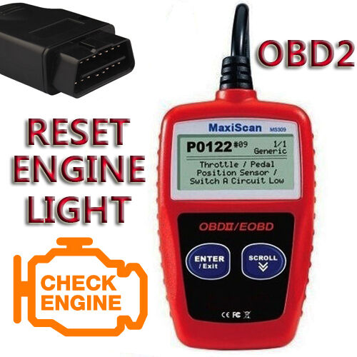 for MERCEDES BENZ Obd2 Can Bus EOBD Car Code Reader Engine Faut Diagnostic  Reset