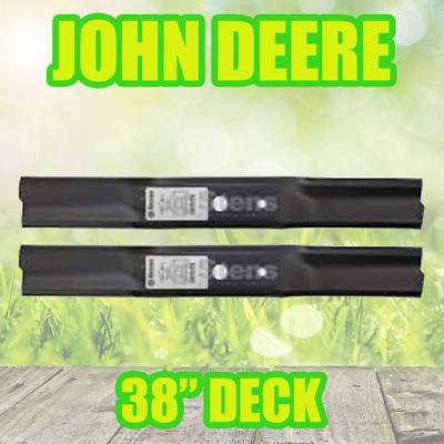 """SABRE M74449 6-PACK LAWN MOWER BLADES 38/"""" JOHN DEERE"""