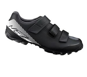 ff76c4a40b1 Shimano SH-ME2 Mountain Bike MTB Cycling Shoes Black White ME2 - 47 ...
